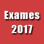 Exames 2017
