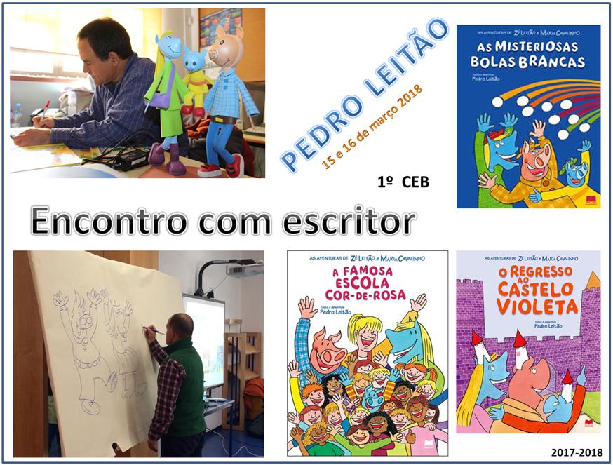Cartaz_Pedro_Leitão - ESCRITOR